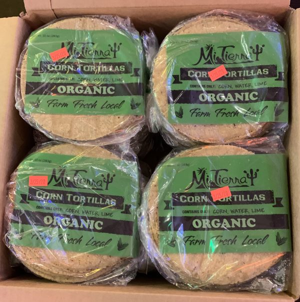 12 Pack Organic Corn Tortillas Delivery