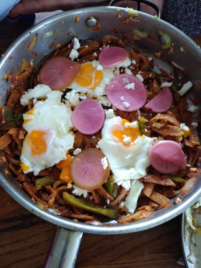 Chilaquiles Recipe With Mi Tierra Corn Tortillas in Hadley MA